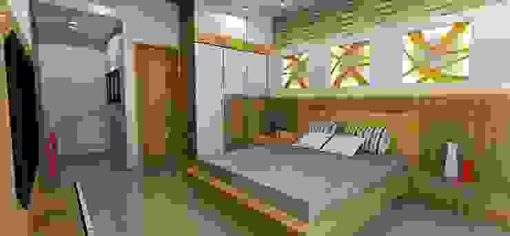Dormitorios de estilo  por Archsmith project consultant