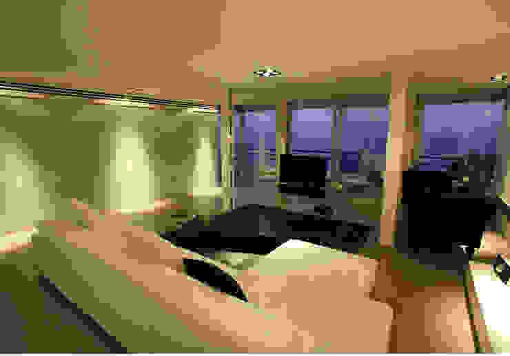 Un loft en la Albufera Salones de estilo moderno de Isidoro Moreno e Hijos s.l. Moderno