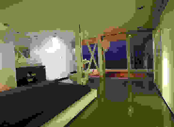 Un loft en la Albufera Dormitorios de estilo moderno de Isidoro Moreno e Hijos s.l. Moderno