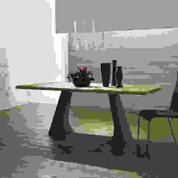 Table Fixe Design Mammut Legno Made in Italy, massif mais élégant Viadurini.fr CuisineTables, chaises & bancs