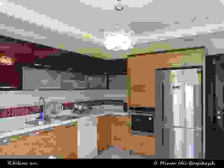 R. Kılınç Evi idiliçmimarlık Modern Mutfak
