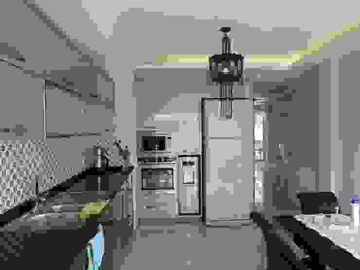 Кухня в стиле модерн от idiliçmimarlık Модерн