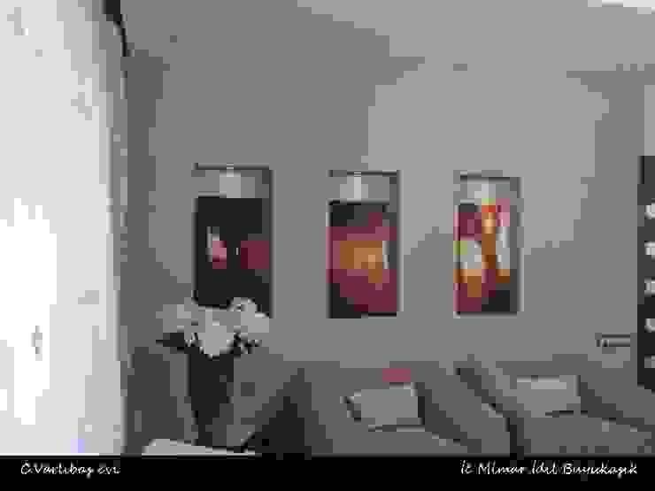 C. Varlıbaş Evi Modern Oturma Odası idiliçmimarlık Modern