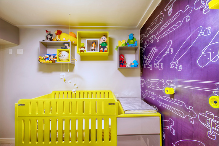 Veridiana França Arquitetura de Interiores Nursery/kid's room
