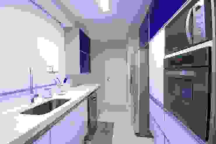 Veridiana França Arquitetura de Interiores ห้องครัว