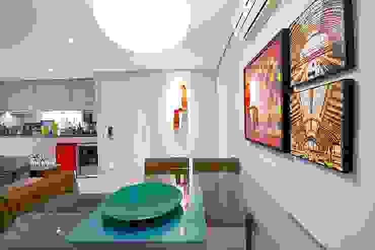 Veridiana França Arquitetura de Interiores ห้องทานข้าว