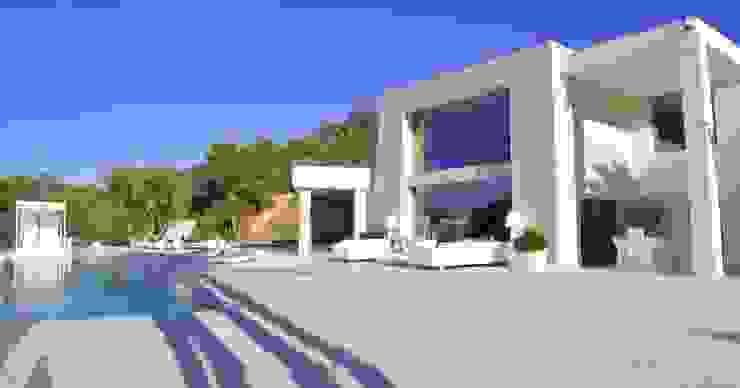 VILLA IBIZA Casas de estilo moderno de Ibiza House Renting Moderno