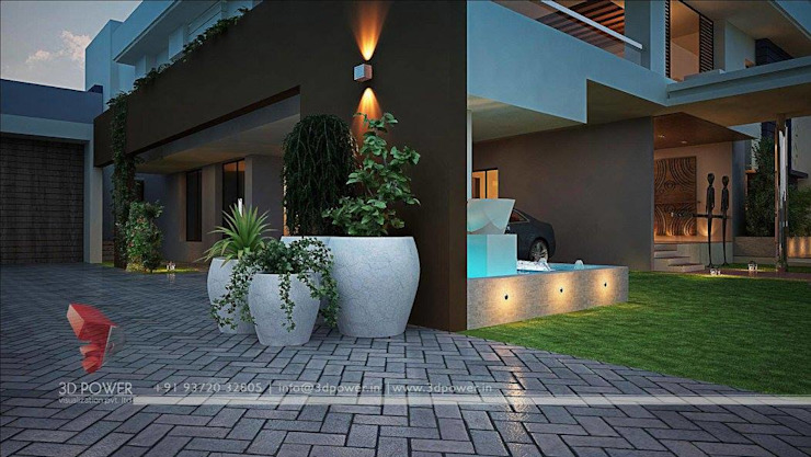 3D Power Visualization Pvt. Ltd. ระเบียง, นอกชาน