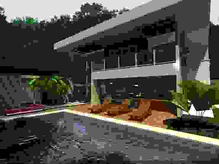 projeto Casas modernas por veronica7 Moderno