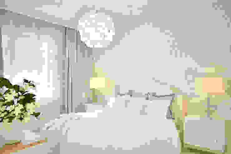غرفة نوم تنفيذ Студия авторского дизайна ASHE Home,