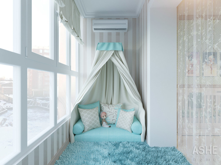Nursery/kid's room by Студия авторского дизайна ASHE Home, Classic