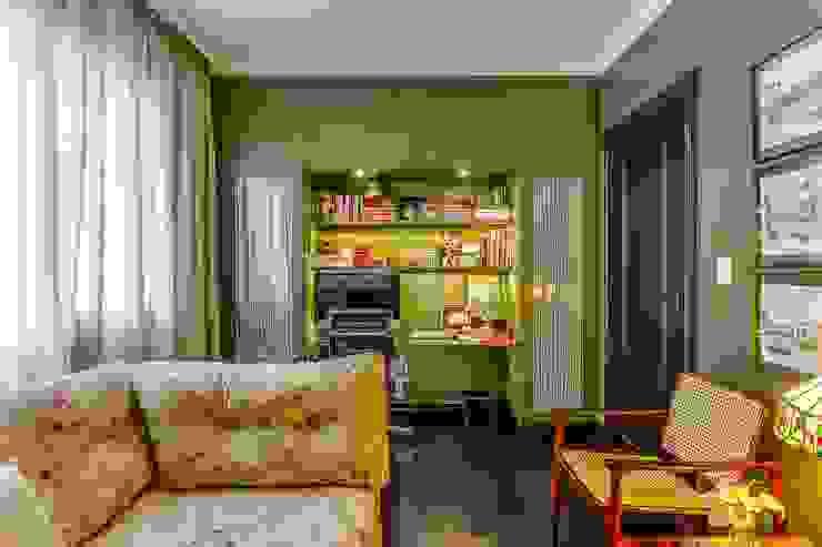 Home Office: Escritórios  por Piloni Arquitetura