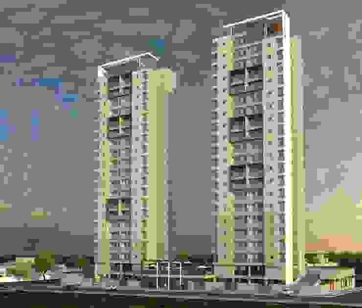 Residencial Solariun por Cavalheiro e Lopes Arquitetos Associados Moderno