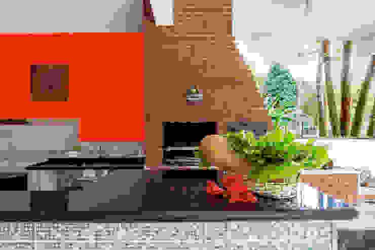 Cocinas de estilo  por Elisabeth Berlato Arquitetura, Interiores e Paisagismo,