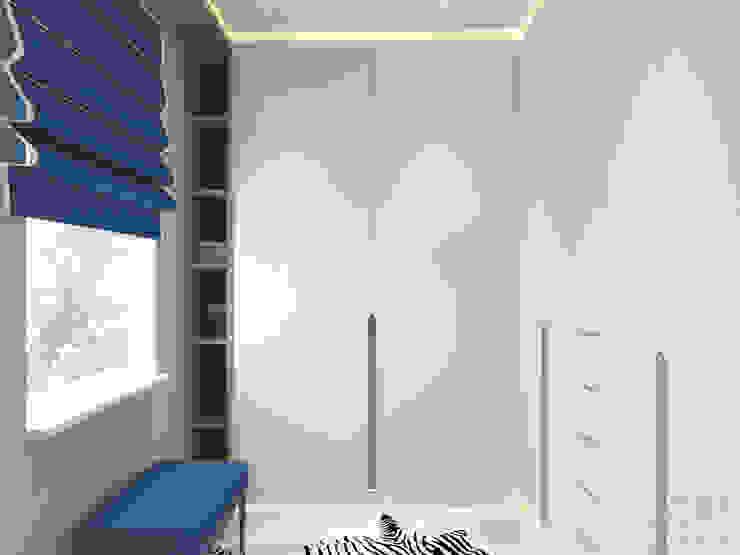 Студия авторского дизайна ASHE Home Ruang Ganti Gaya Eklektik