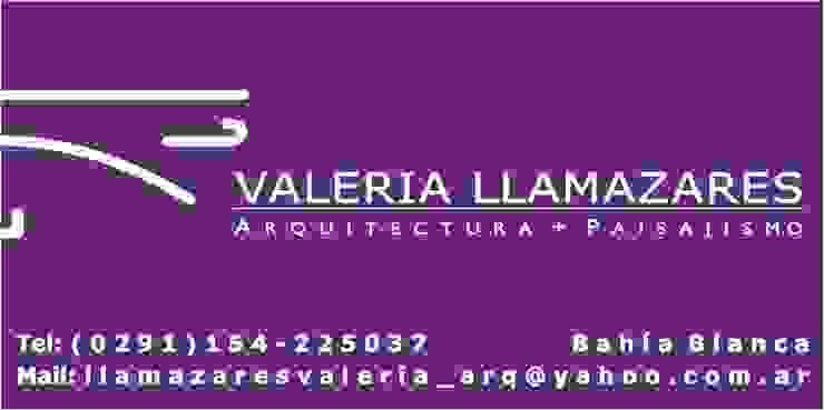 Logo de Valeria Llamazares . Arquitectura + Paisajismo .