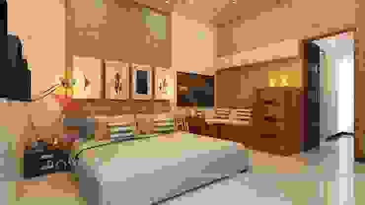 3D Power Visualization Pvt. Ltd. Modern Bedroom