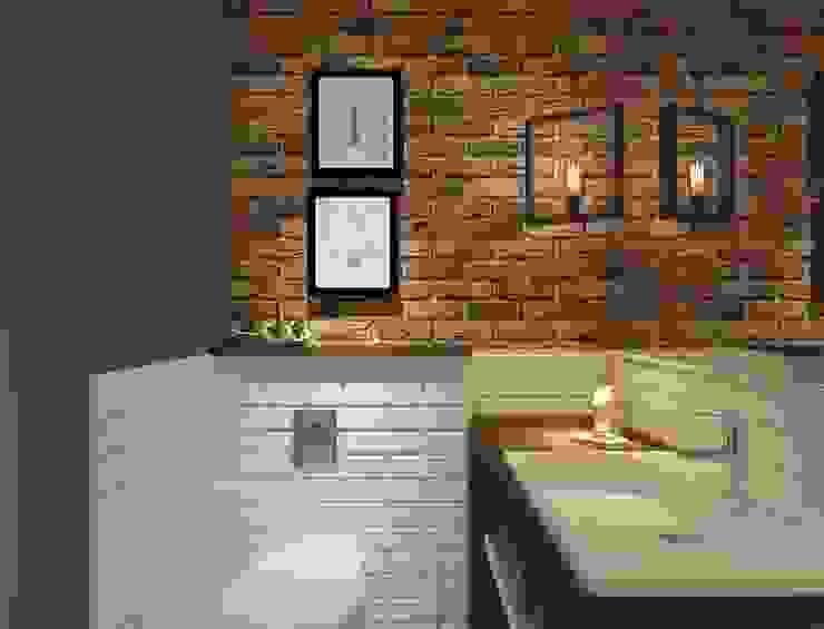 Студия авторского дизайна ASHE Home Baños de estilo ecléctico