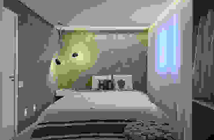 Apartamento   Cobertura Quartos modernos por Piacesi Arquitetos Moderno