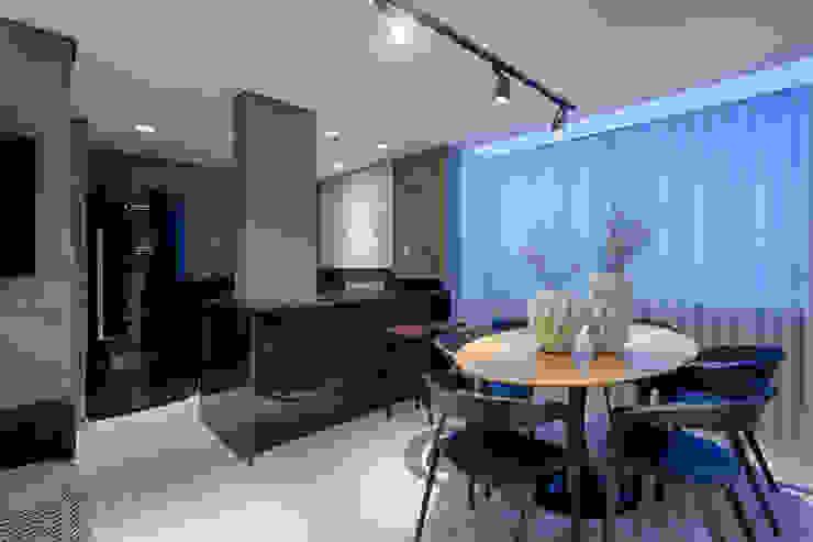 Apartamento   Cobertura Salas de jantar modernas por Piacesi Arquitetos Moderno