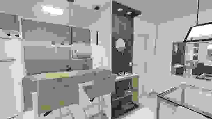 Apartamento Jovem Homem por Áurea Arquitetura e Design Moderno