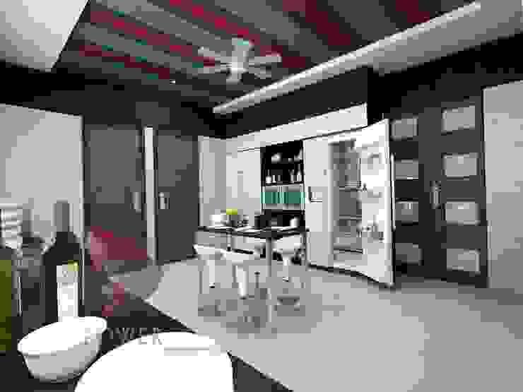 3D Power Visualization Pvt. Ltd. ห้องครัว
