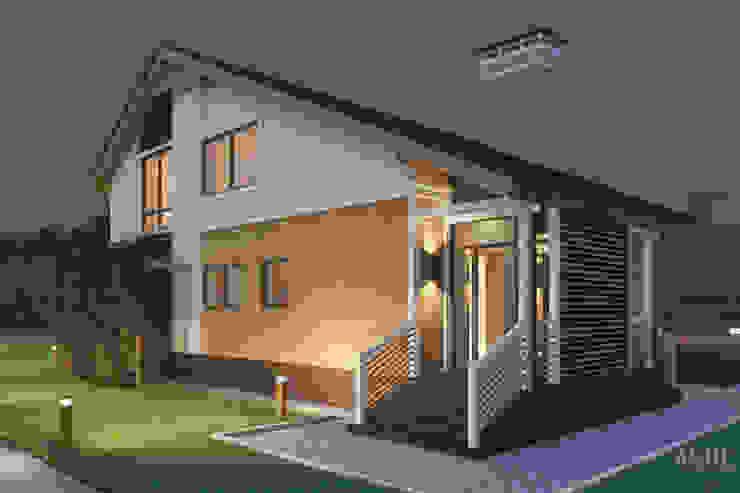 Дизайн коттеджа под Уфой: Дома в . Автор – Студия авторского дизайна ASHE Home,