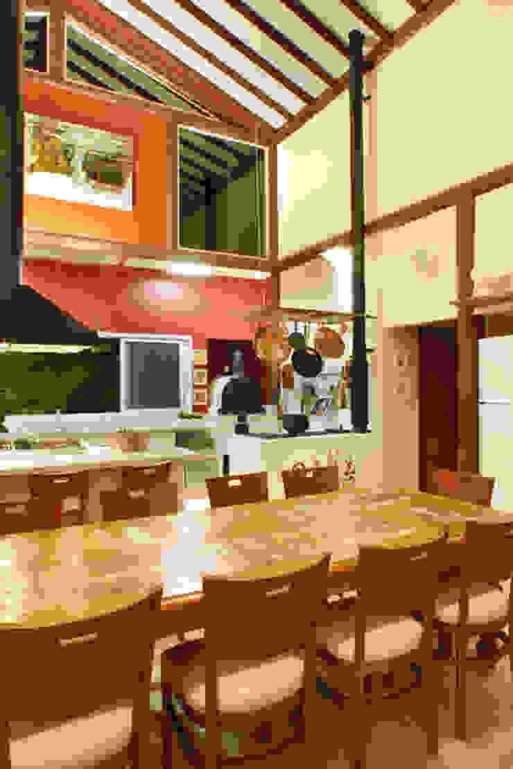 Silvia Cabrino Arquitetura e Interiores 餐廳