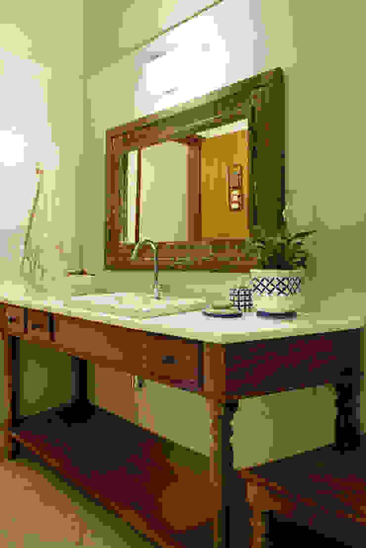 Silvia Cabrino Arquitetura e Interiores 浴室
