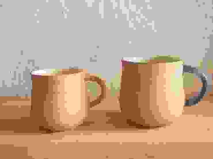 mug cup: 川尻製陶所 - kawajiri Earthenware Factoryが手掛けたアジア人です。,和風 陶器