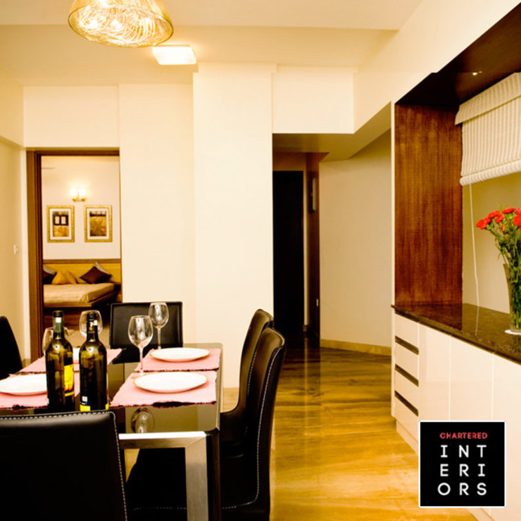 Dining Room Designs Modern dining room by Chartered Interiors Modern