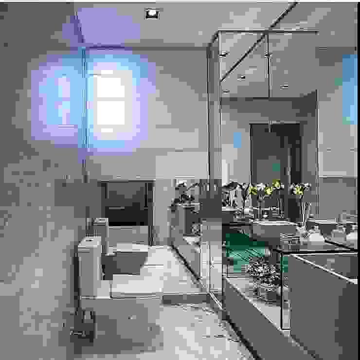 projetos Banheiros modernos por alessandra10 Moderno