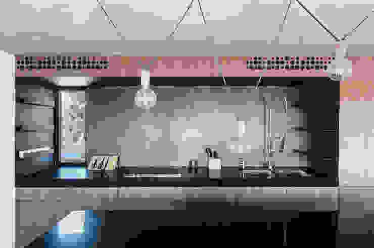 Duplex Penthouse in Tel Aviv toledano + architects Cuisine minimaliste Bois