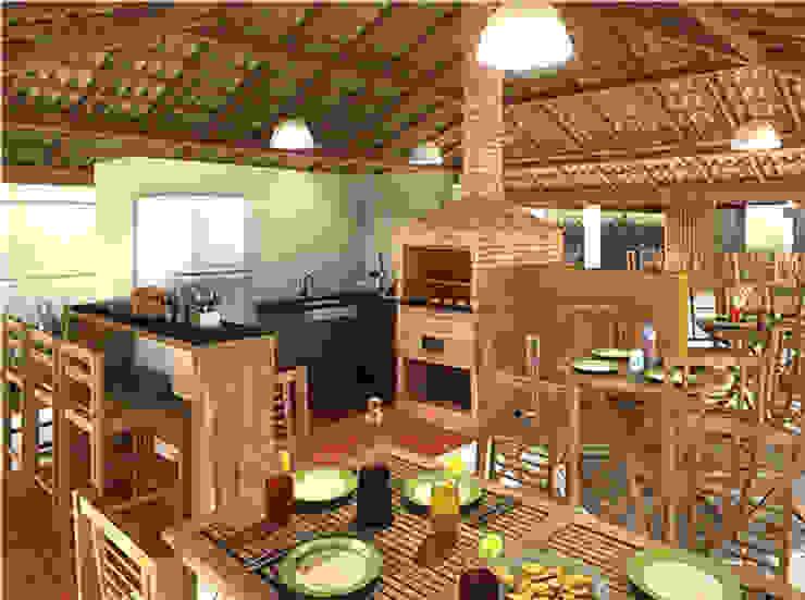projetos Varandas, alpendres e terraços modernos por contato142 Moderno