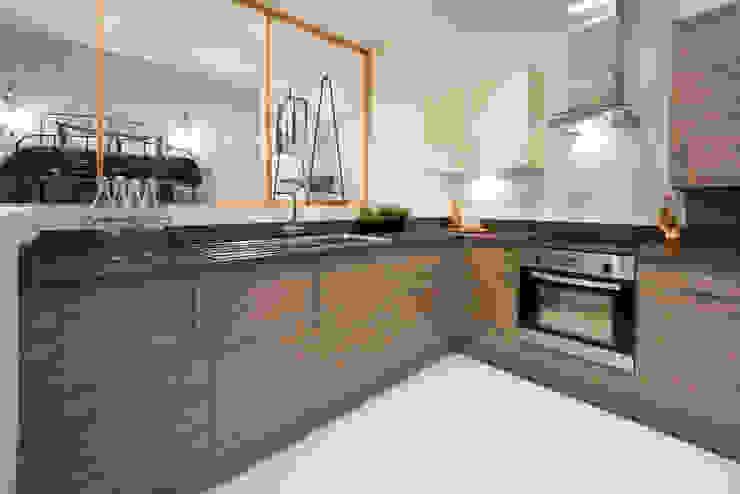 The Cotton Exchange - Kitchen:  Kitchen by Jigsaw Interior Architecture ,