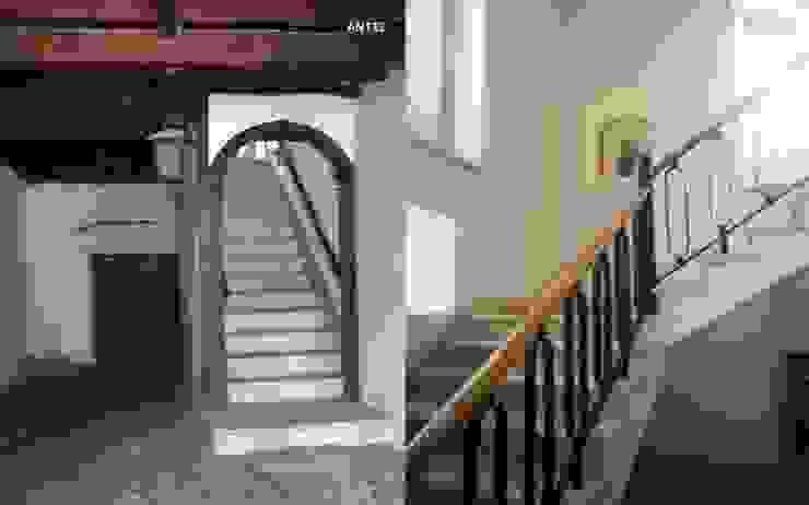 QUINTA TURCIFAL Corredores, halls e escadas rústicos por Actual2 Rústico