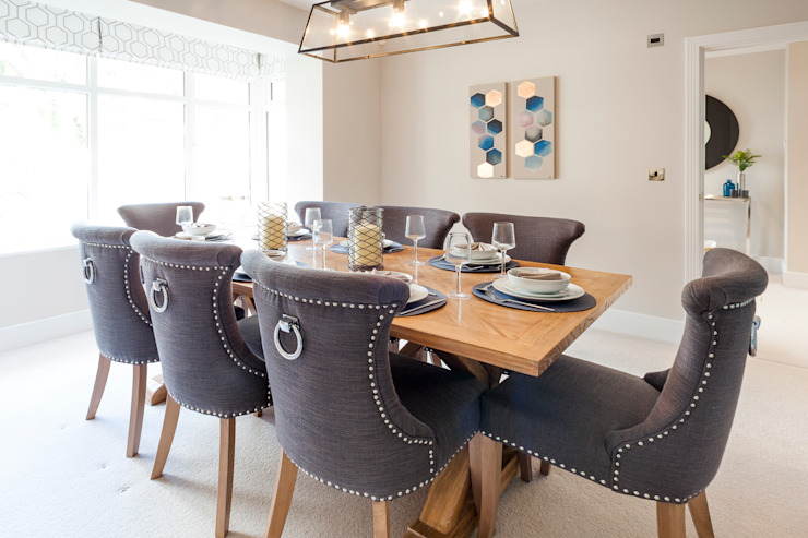 The Dormy - Dining Room: modern  by Jigsaw Interior Architecture , Modern