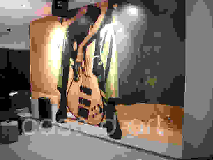 Produção e Aplicação de Murais em Vinil Autocolante - Hotel Costa de Caparica por CASADART.PT