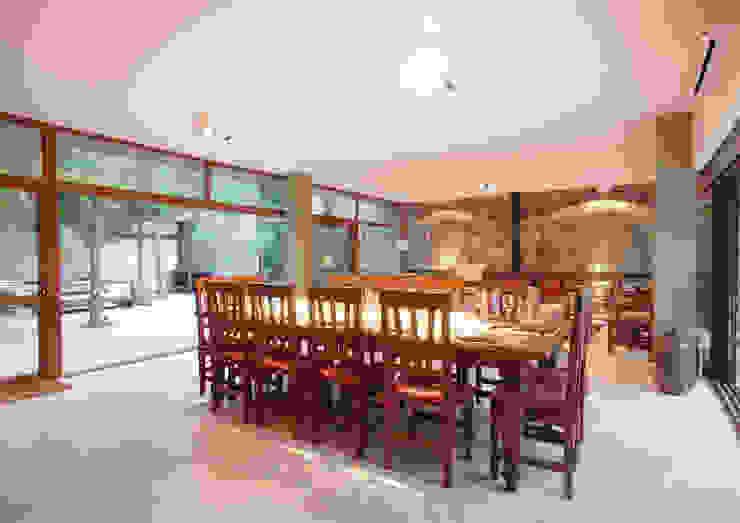 LUCAS MC LEAN ARQUITECTO Modern dining room