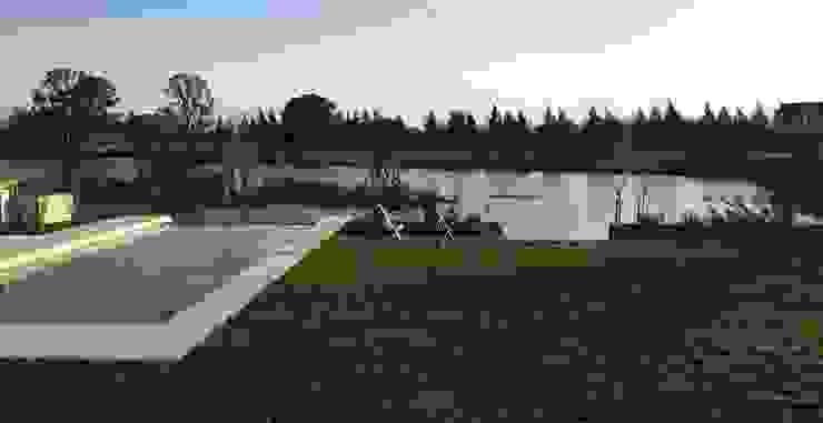 Casa ANV: Jardines de estilo  por Israel & Teper arquitectos