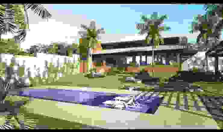 projeto Casas modernas por manuela3 Moderno