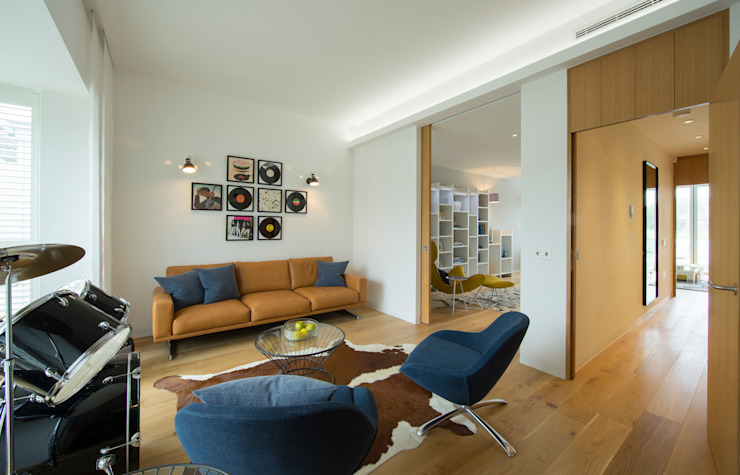 Argyll Place - Music Room Modern media room by Jigsaw Interior Architecture Modern