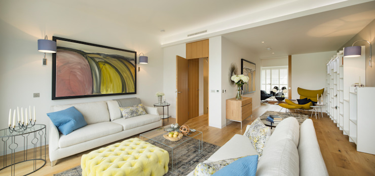 Argyll Place - Living Room Modern living room by Jigsaw Interior Architecture Modern