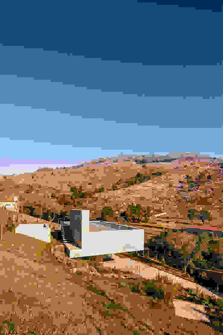 Refúgio na Montaria Casas modernas por Carvalho Araújo Moderno Betão