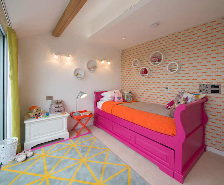 Argyll Place - Bedroom 3 Modern style bedroom by Jigsaw Interior Architecture Modern