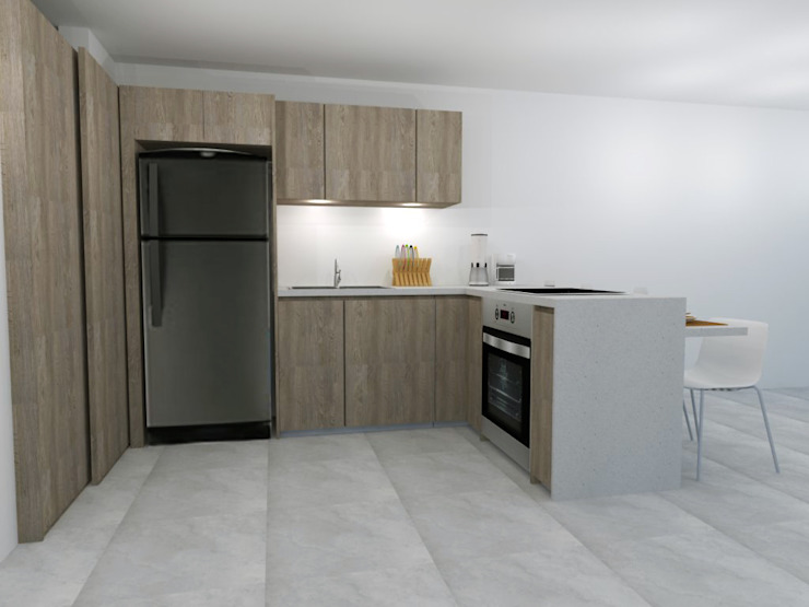 ARCE FLORIDA 現代房屋設計點子、靈感 & 圖片 木頭 Wood effect
