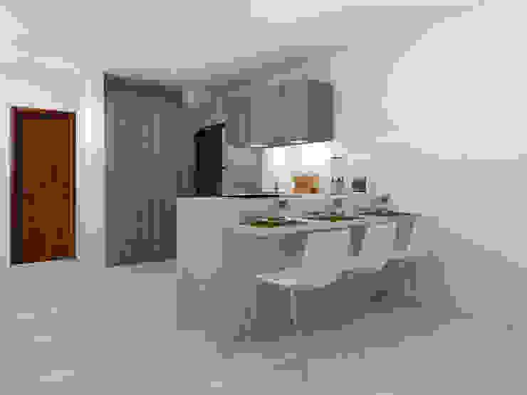 ARCE FLORIDA 現代廚房設計點子、靈感&圖片 木頭 Wood effect