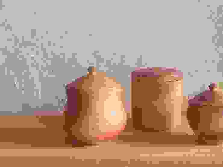 salt pot - 塩壷: 川尻製陶所 - kawajiri Earthenware Factoryが手掛けたアジア人です。,和風 陶器