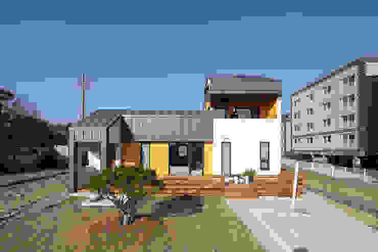 주택설계전문 디자인그룹 홈스타일토토 Casas de estilo moderno