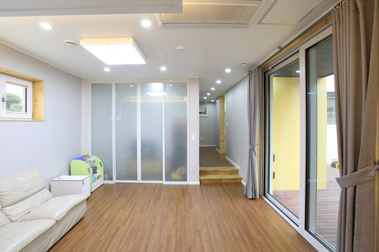 Modern Oturma Odası 주택설계전문 디자인그룹 홈스타일토토 Modern